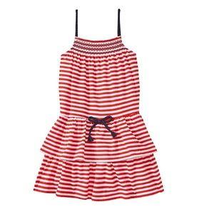 Girls Osh Kosh Striped Summer Dress 4th of July